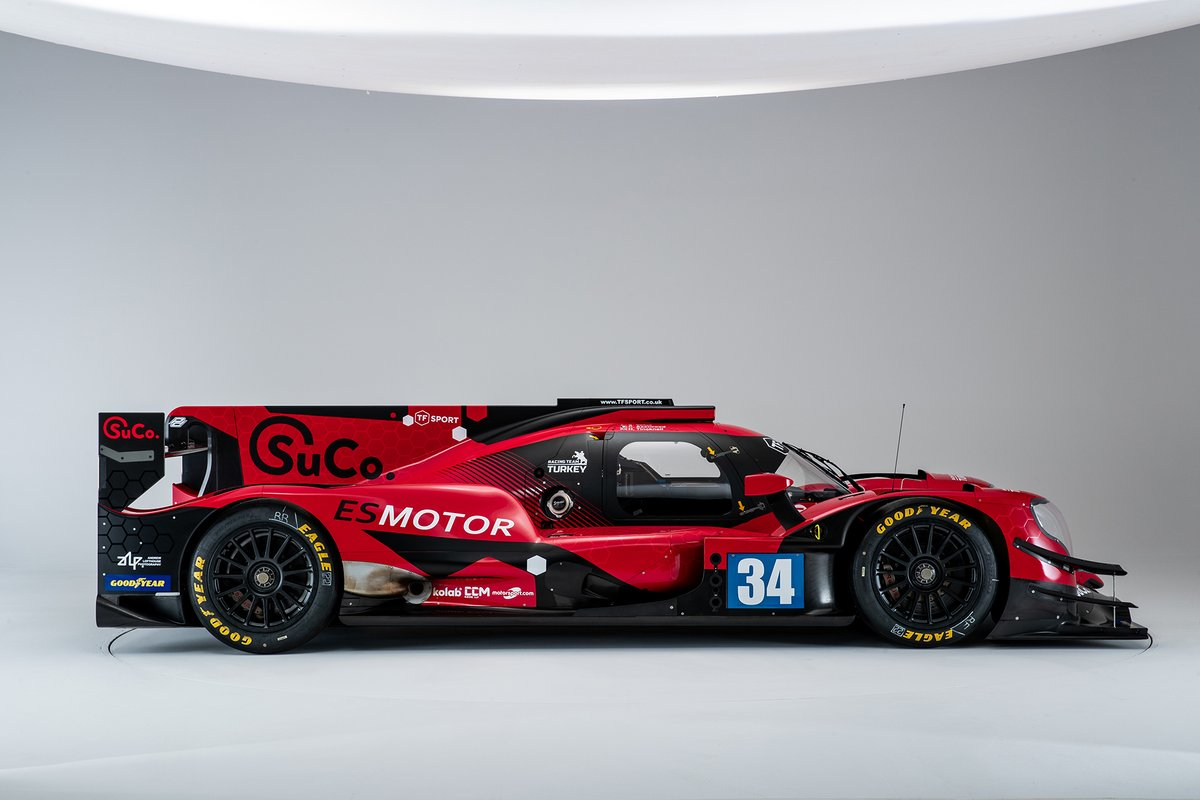 #34 Racing Team Turkey Oreca 07, Salih Yoluç, Charlie Eastwood, Harry Tincknell, 2021 livery