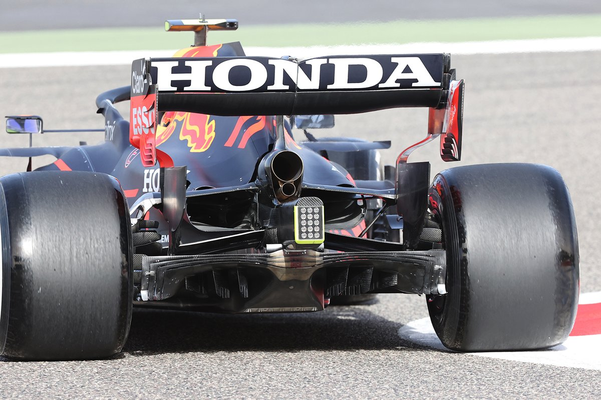 Red Bull Racing RB16B rear detail