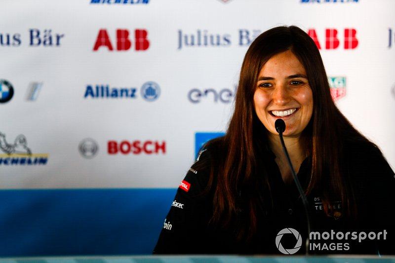 Tatiana Calderon, DS TECHEETAH, en la conferencia de prensa