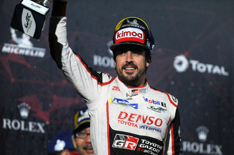 2. #8 Toyota Gazoo Racing Toyota TS050: Fernando Alonso