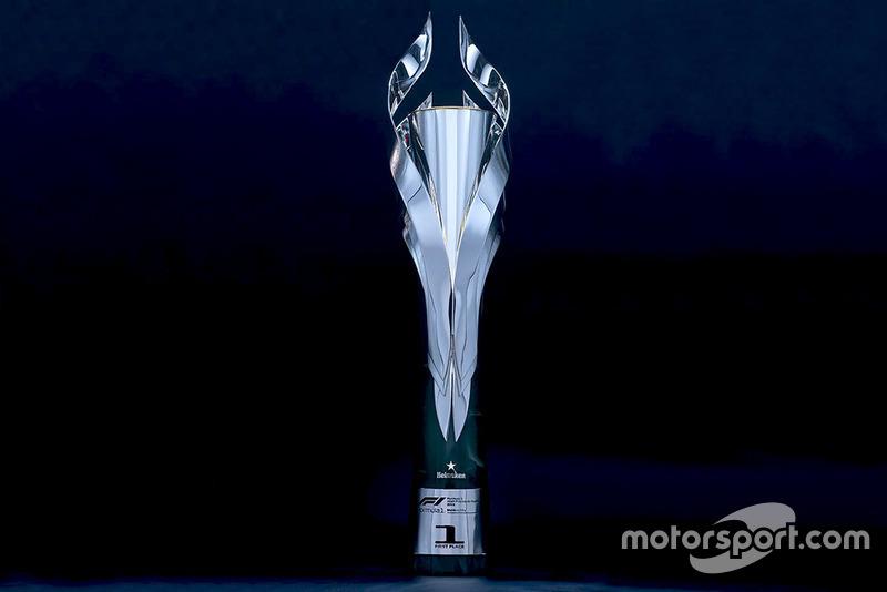 Трофей переможця Гран Прі Мексики 2018 року