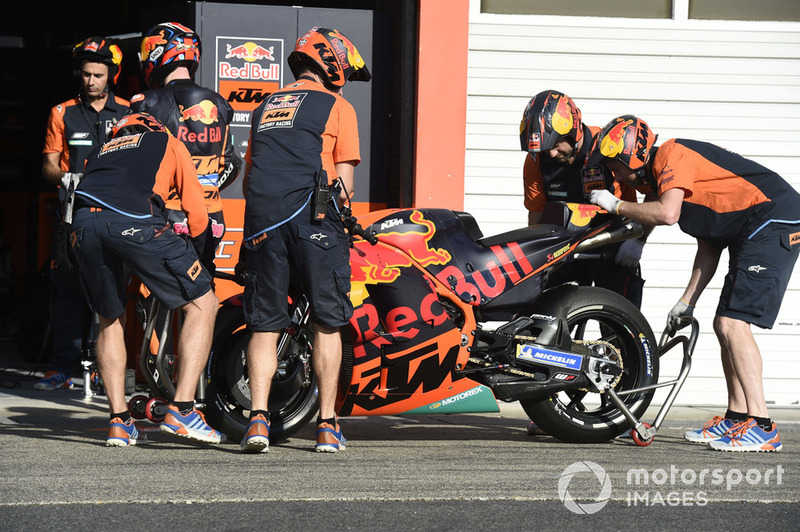 Red Bull KTM Factory Racing Technicians
