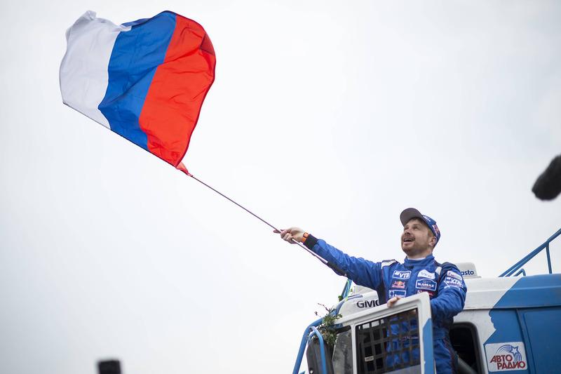Ganador camiones Eduard Nikolaev, Team KAMAZ Master