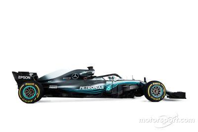梅赛德斯AMG F1 W09赛车发布