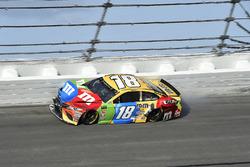 Crash: Kyle Busch, Joe Gibbs Racing Toyota