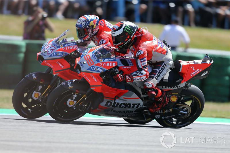Первый квалификационный дубль Ducati более чем за 10 лет