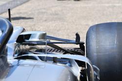 Suspensions avant de la Mercedes-AMG F1 W09