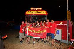 Campsite Sebastian Vettel, Ferrari fans and atmosphere