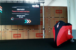 Aprilia Racing Team launch