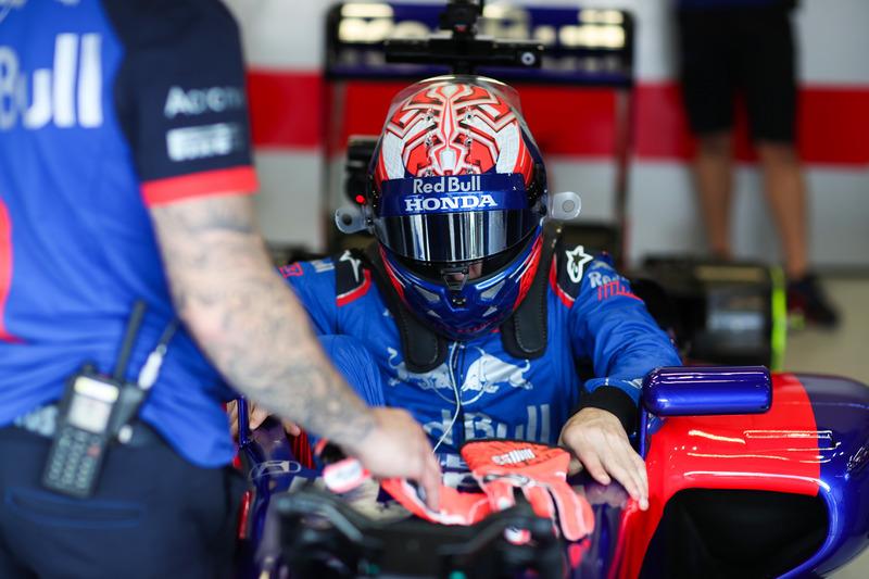 Marc Marquez, test de Toro Rosso F1-wagen