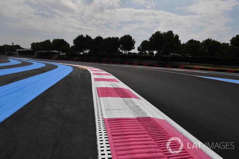 Paul Ricard track walk