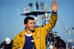 Ganador de la carrera Richard Petty