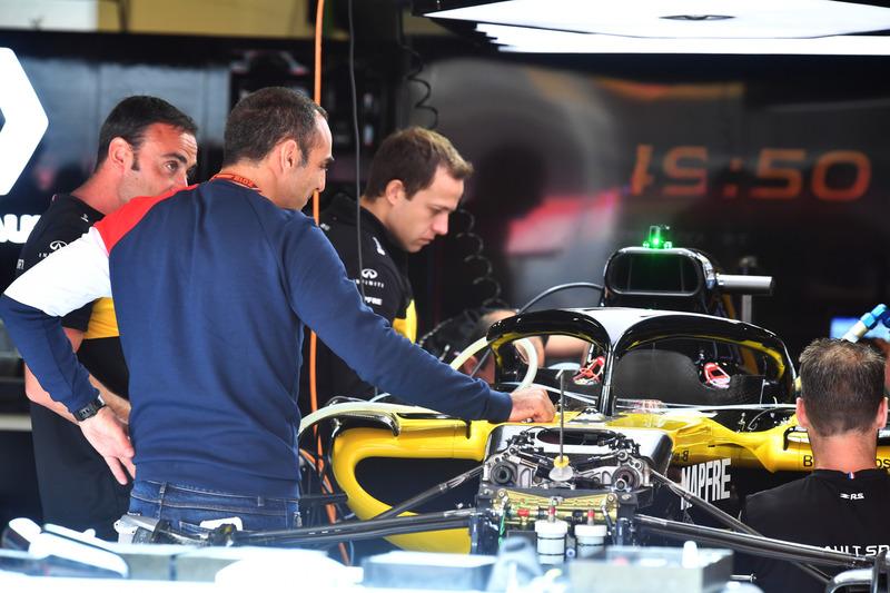 Cyril Abiteboul, Director Ejecutivo de Renault Sport F1 y Renault Sport F1 Team R.S. 18