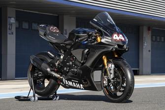 Yamaha R1 mi Startnummer 44 von Lewis Hamilton