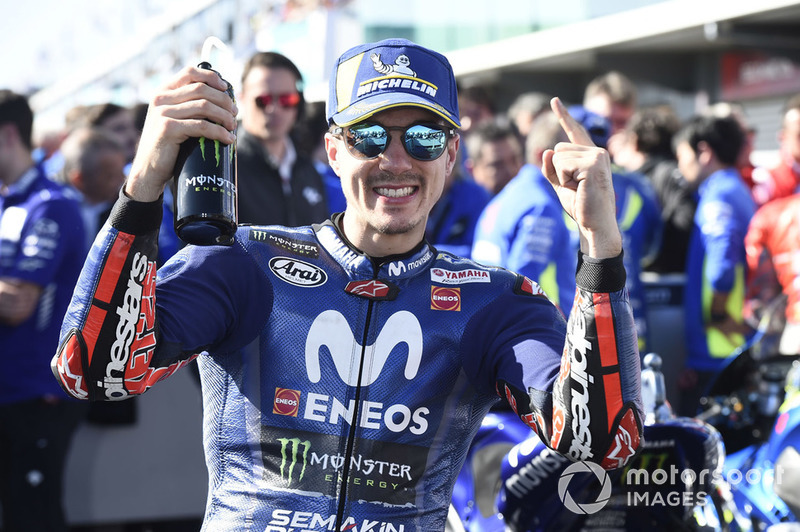 Il vincitore della gara Maverick Viñales, Yamaha Factory Racing