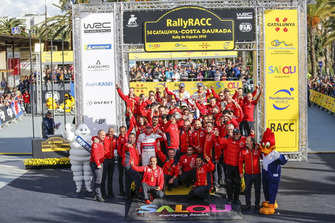 Победители Себастьен Лёб и Даниэль Элена, Citroën World Rally Team