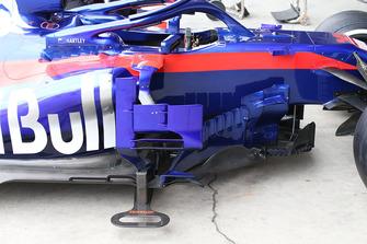 Vue détaillée d'un déflecteur de Scuderia Toro Rosso STR13