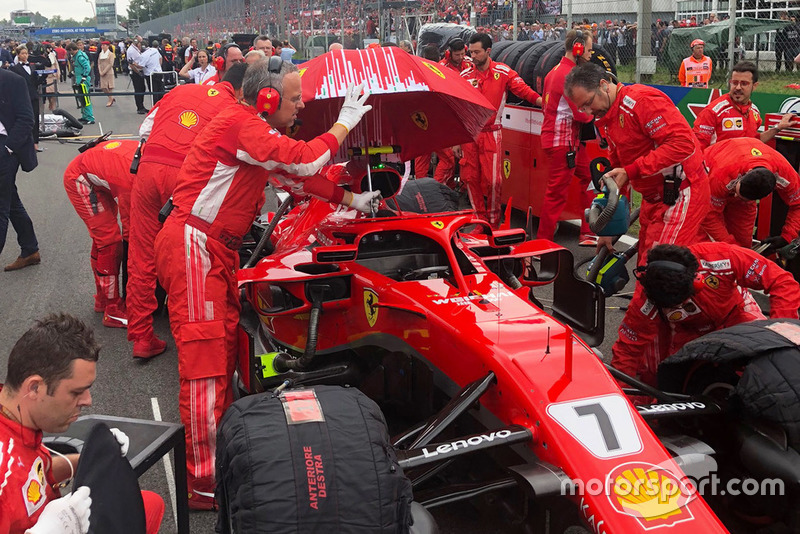 Mobil Kimi Raikkonen, Ferrari SF71H