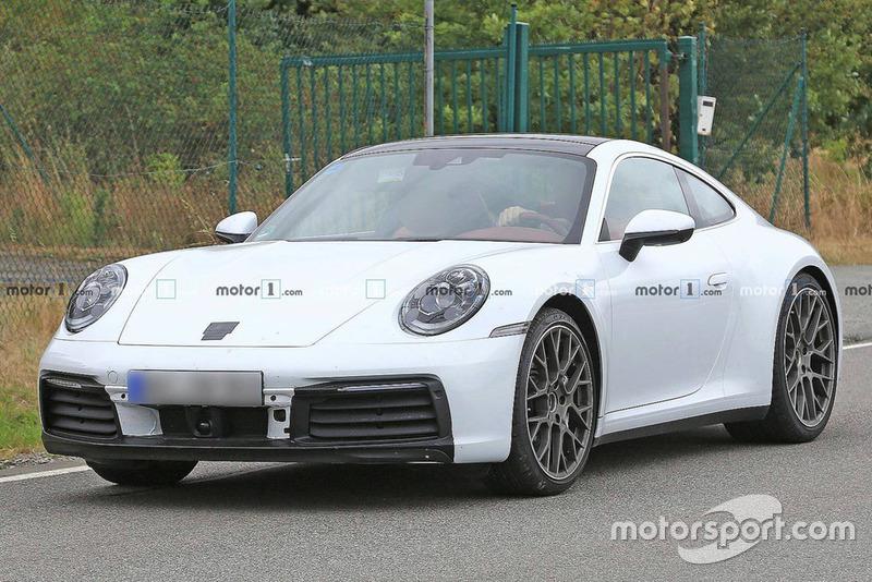 Шпигунське фото Porsche 911 2019 року