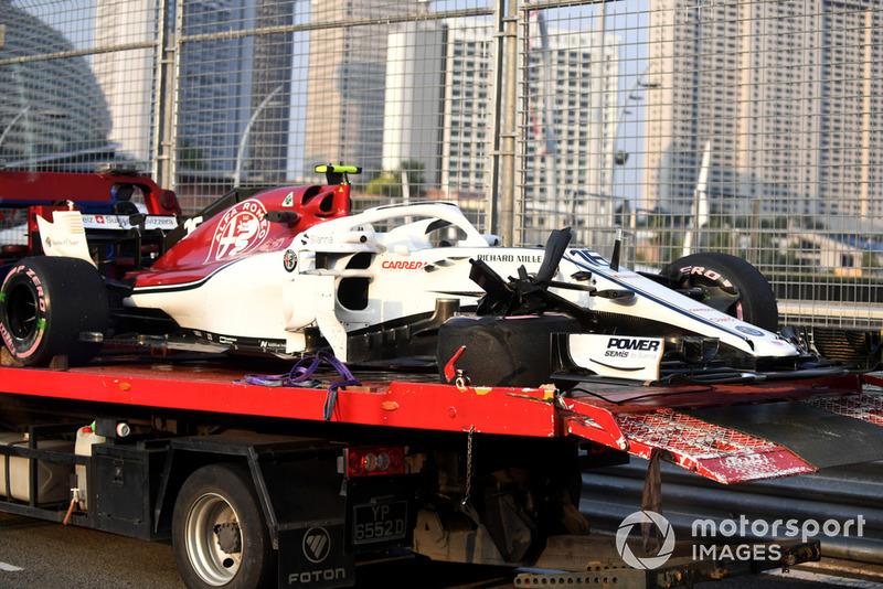 GP Singapura - Charles Leclerc (FP1)