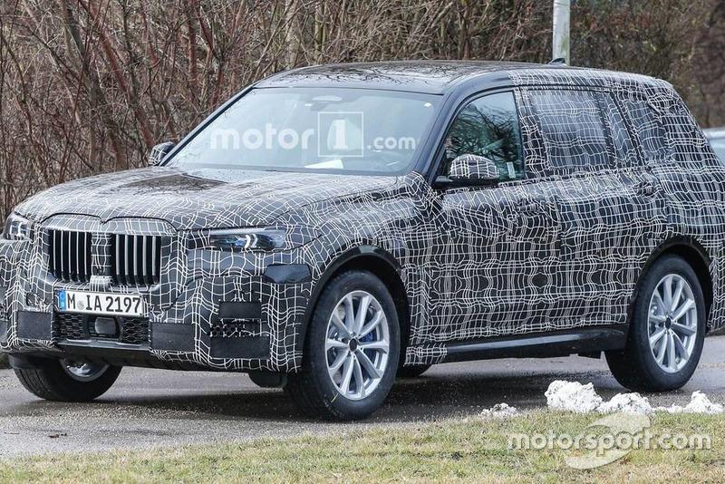 BMW X7 - шпигунські фото