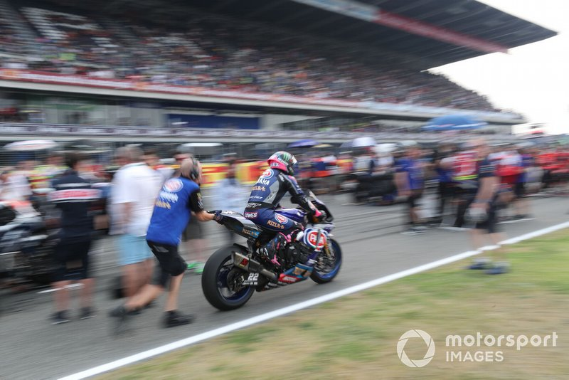 Alex Lowes, Pata Yamaha
