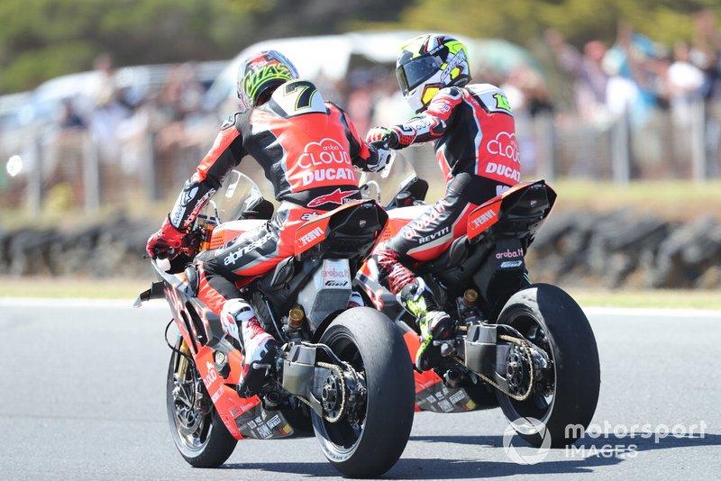 Chaz Davies, Aruba.it Racing-Ducati Team, Alvaro Bautista, Aruba.it Racing-Ducati Team