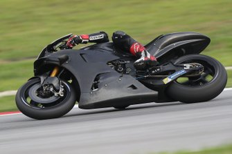 Bike vom Yamaha Test Team