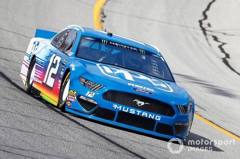 26. Ryan Blaney, Team Penske, Ford Mustang