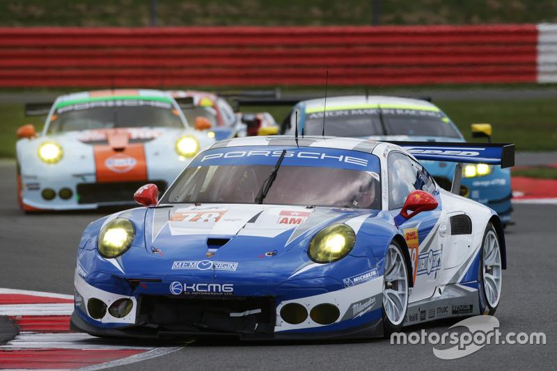 Christian Ried, Wolf Henzler, Joel Camathias, #78 KCMG Porsche 911 RSR