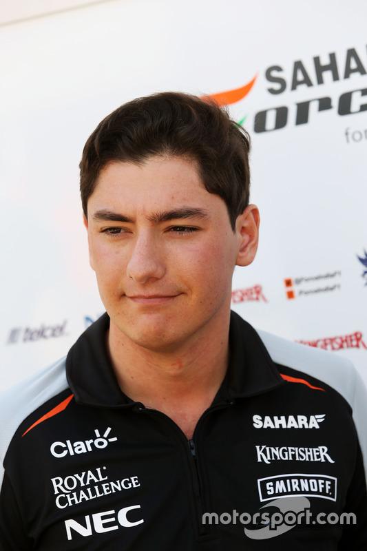 Alfonso Celis Jr, Force India (martes y miércoles)
