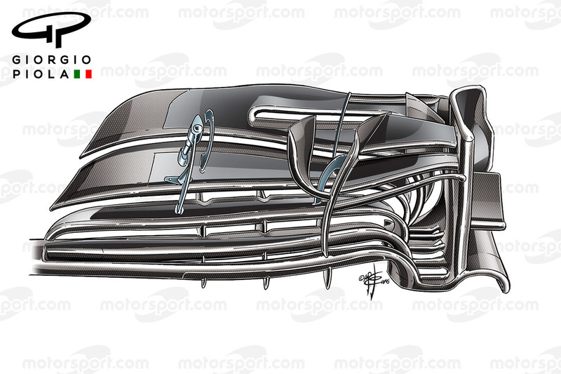 Frontflügel, McLaren MP4/31, Barcelona,