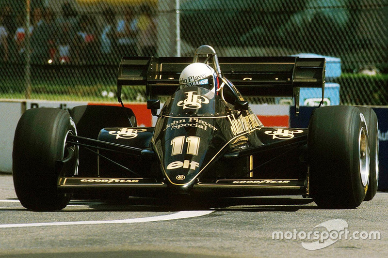 Lotus 1984: Elio de Angelis, Lotus 95T