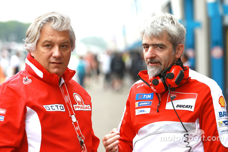 Paolo Campinoti and Gigi Dall'Igna, Ducati Team
