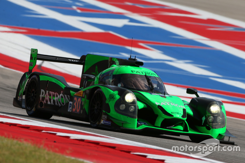 7. LMP2: #30 Extreme Speed Motorsports, Ligier JS P2 - Nissan: Scott Sharp, Ed Brown, Johannes van Overbeek