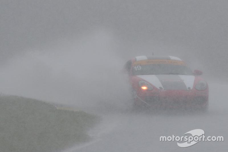 #19 RS1 Porsche Cayman: Greg Strelzoff, Connor Bloum