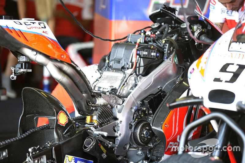 Bike of Danilo Petrucci, Pramac Racing