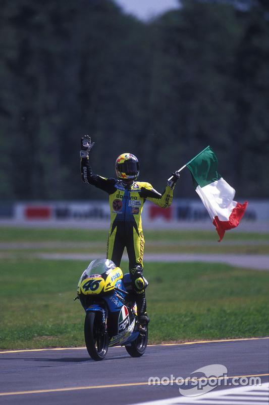 Il vincitore: Valentino Rossi
