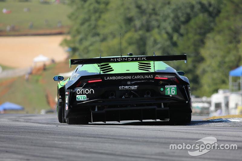#16 Change Racing, Lamborghini Huracan GT3: Spencer Pumpelly, Corey Lewis, Richard Antinucci