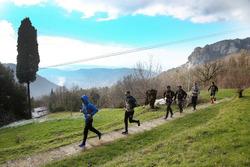 Augusto Farfus, Marco Wittmann,  Bruno Spengler, Philipp Eng and Joel Eriksson, Hiking