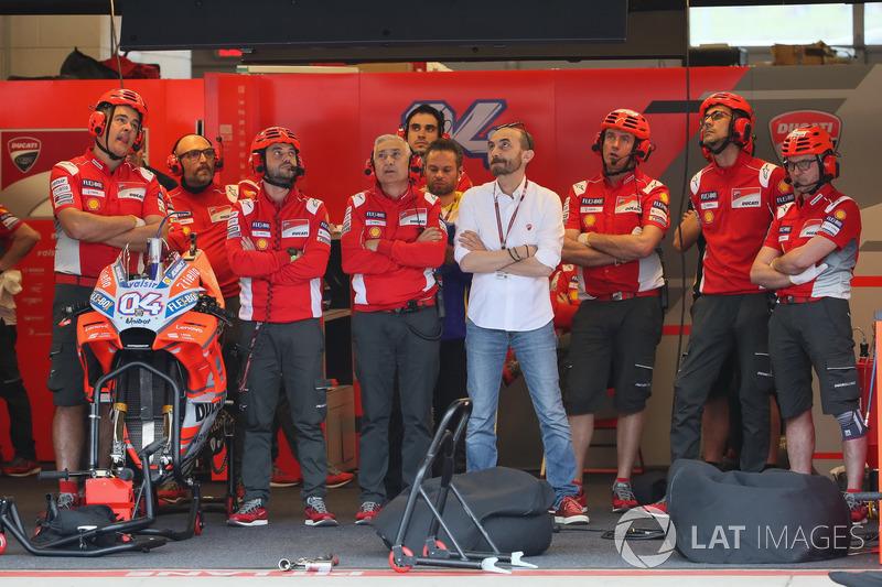 Garasi Andrea Dovizioso, Ducati Team