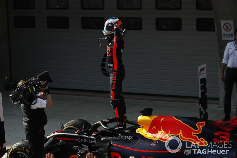 Ganador de la carrera Daniel Ricciardo