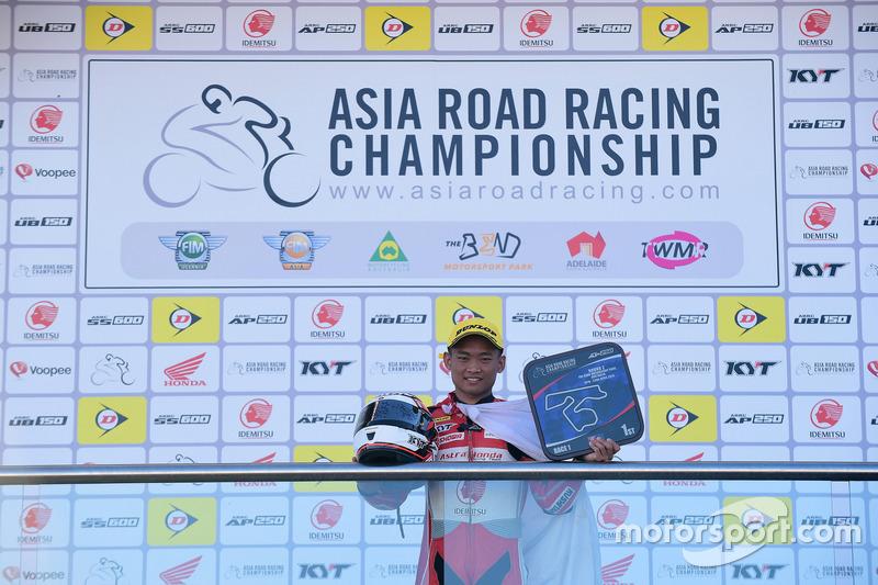 Podium AP250: Rheza Danica, Astra Honda Racing Team