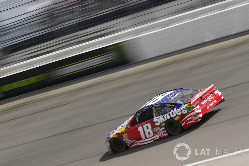 Kyle Busch, Joe Gibbs Racing, Toyota Camry Skittles Red White & Blue