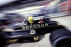 Ayrton Senna, Lotus 98T Renault