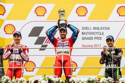 Podium: 1. Andrea Dovizioso, Ducati Team; 2. Jorge Lorenzo, Ducati Team; 3. Johann Zarco, Monster Yamaha Tech 3