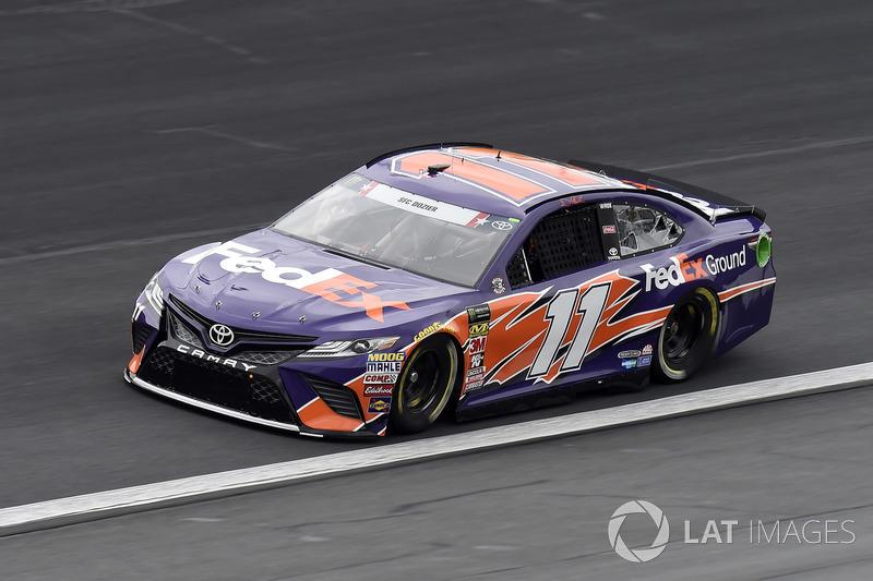 3. Denny Hamlin, Joe Gibbs Racing, Toyota Camry FedEx Ground