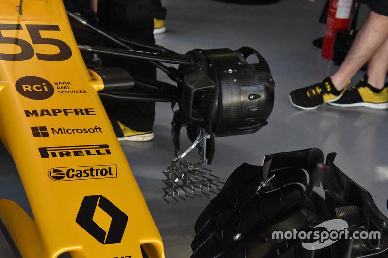 Renault Sport F1 Team RS17 rem detail