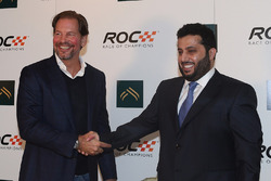 ROC President Fredrik Johnsson and his Excellence Turki Al-Sheikh, President of the General Sport Authority of Saudi Arabia