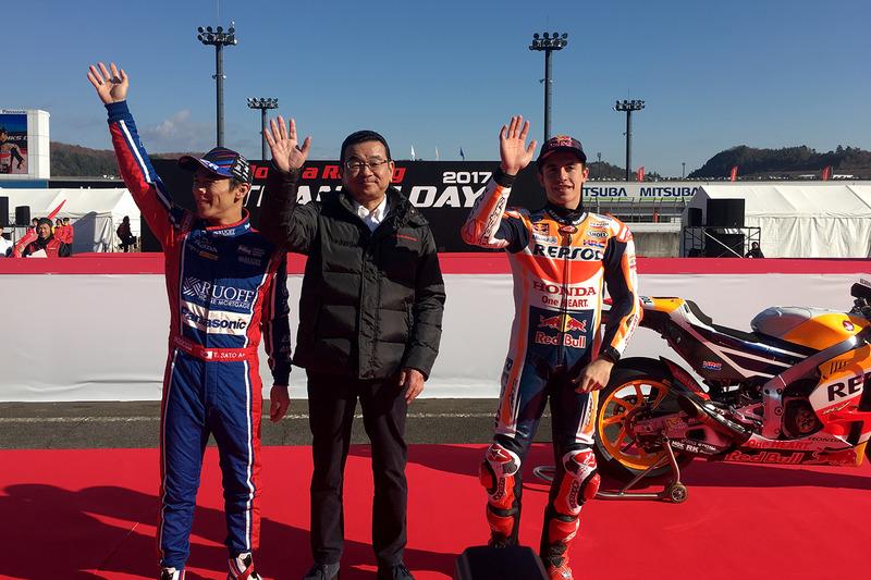 Takuma Sato, Andretti Autosport Honda, Marc Márquez, Repsol Honda Team